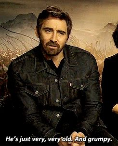 """Lee Pace: """"I don't think Thranduil is mean. He's just very, very old. And grumpy"""""""