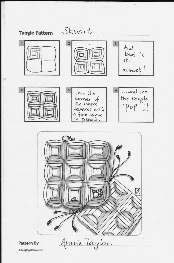 I did another tangle for the Square One - Purely Zentangle challenge over on Facebook this week. I included a tangle I have recently created...