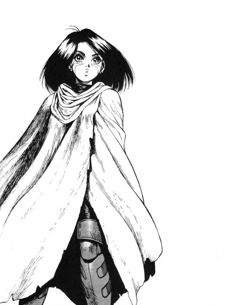 Battle Angel Alita (aka Gunnm) art by Yukito Kishiro