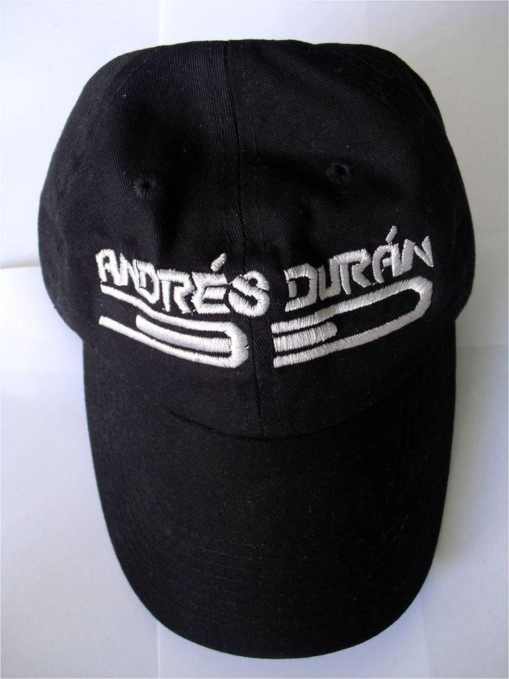 Venta de Gorras Bordadas con mi Logo Artistico, Andrés Durán 3D