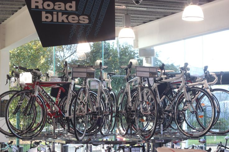 We have a large selection of Road Bikes
