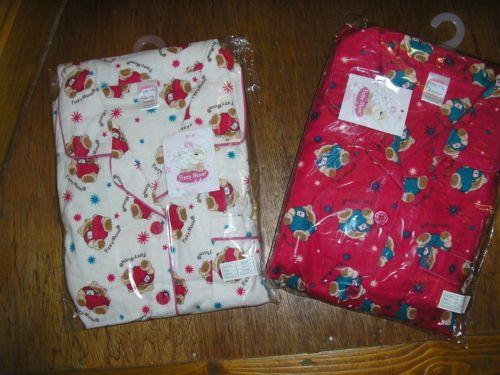 Fizzy Moon Brushed Cotton Wincy Pyjamas Red or Cream Sizes 10 12 14 16 18 20 | eBay