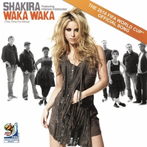 Waka Waka (This Time For Africa) (The Official 2010 Fifa World Cup (Tm) Song) Shakira featuring Freshlyground   Format: MP3 Download, http://www.amazon.com/dp/B003K4LOSA/ref=cm_sw_r_pi_dp_Xi68pb0R6BKNS