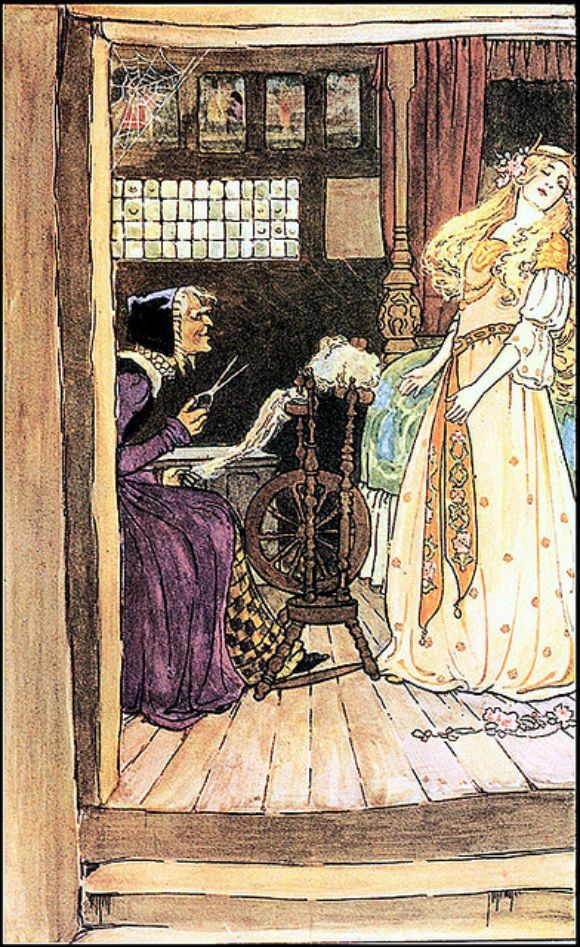 Sleeping Beauty: Captivating Illustrations of Classic Fairy Tales From the Brothers Grimm