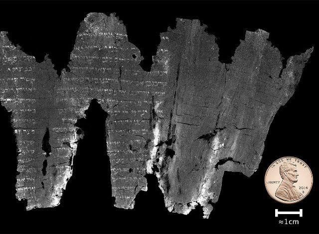 Το αρχαίο και άκρως εύθραυστο εβραϊκό χειρόγραφο του Εν-Γκεντί, που χρονολογείται από τον 3ο ή 4ο αιώνα μ.Χ. και, όπως αποδείχθηκε, περιέχει το παλαιότερο αντίγραφο του Βιβλίου του Λευϊτικού της Παλαιάς Διαθήκης, «ανοίχτηκε» για πρώτη φορά χάρη στην ψηφιακή τεχνολογία.