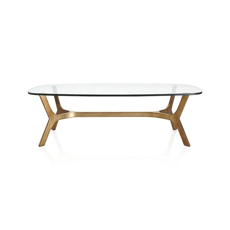 Elke Glass Coffee Table In Coffee Tables Crate And