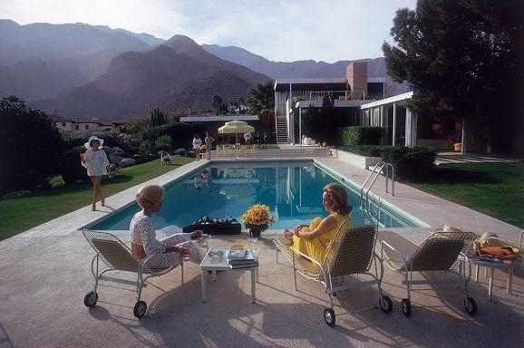 Poolside Gossip - Slim Aarons