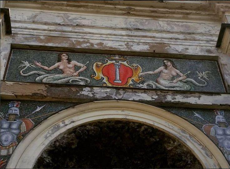 stemma colonnesco su volta