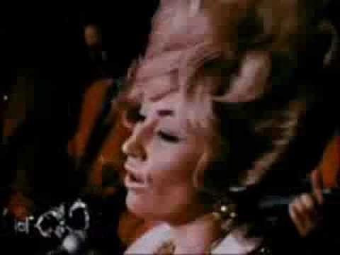Beautiful Dolly singing Blue Ridge Mountain Boy at Grand Ole Orpy 1969.