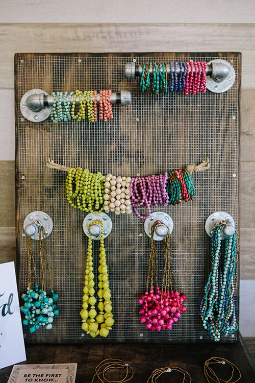 31 Bits House Parties | Jewelry Display | The Shift Creative