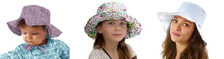 Chapeau pluie, soleil et polaire fantaisie en tissu pour femme - PPMC