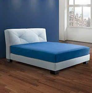 T te de lit pour lit double contemporaine en tissu tapiss e prestige - Tissu capitonne pour tete de lit ...