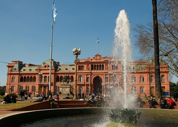 Casa Rosada ~ Pink House in Buenos Aires