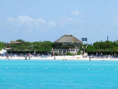 Beach at Half Moon Cay