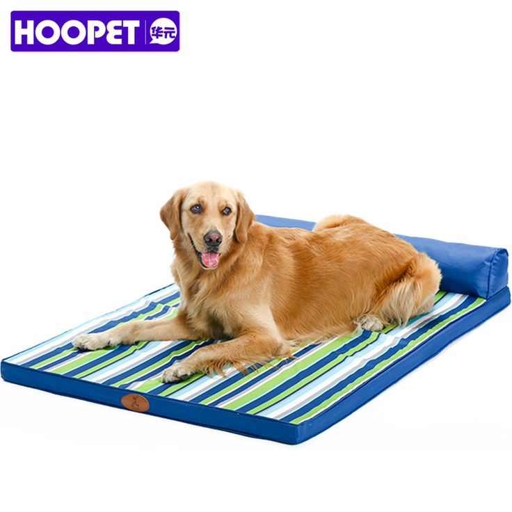 ==> [Free Shipping] Buy Best Blue Striped Design Square Bed Sofa for Big Dogs Cats All Season Washable Large Sofa Bed for 30-90Kg Dog Cat Pet Goods Supplies Online with LOWEST Price | 32769785623