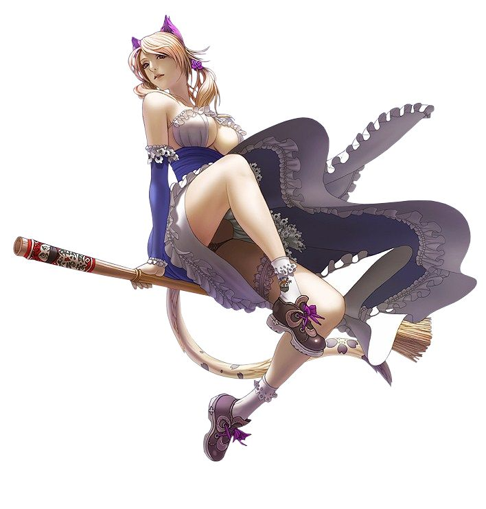 Femme_Sorciere_balai_magicienne_magie.png (708×742)