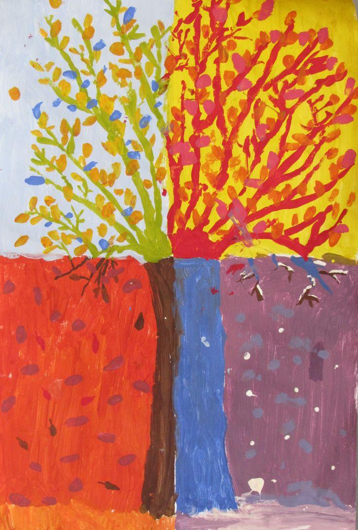 71 beste afbeeldingen over de vier jaargetijden op pinterest bomen taupe en eland for Wat zijn de koele kleuren