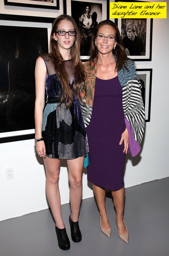 Diane Lane with daughter Eleanor Lambert