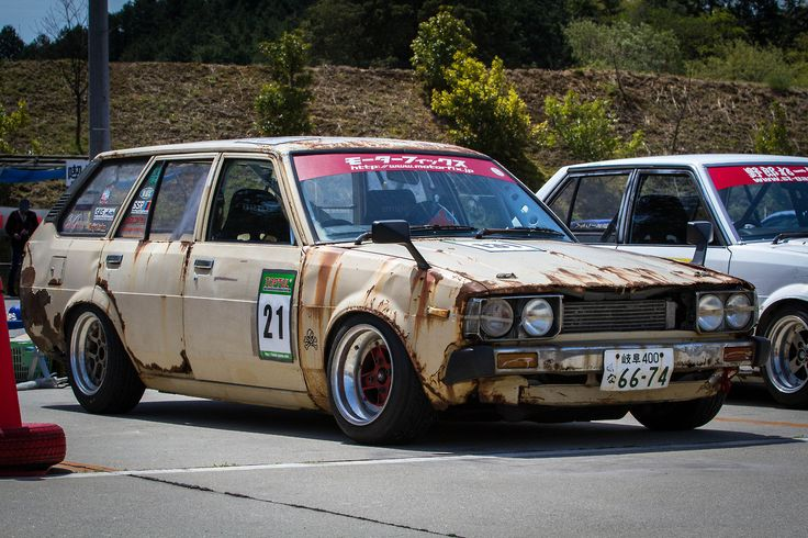 "MOTORFIX's ""Battle scarred and Dorfito Tested KE70 Wagon.."