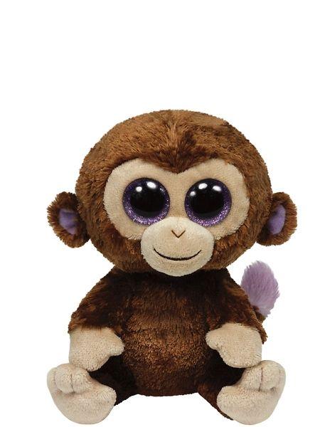 Beanie Boo's, Coconut (33 cm). Coconut-apina on veikeä kaveri. Pehmolelun korkeus on 33 cm