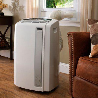 Pinguino 12000 BTU Whisper Quiet Portable Air Conditioner with BioSilver Air Filter - PAC-AN120EW, ALMO713-1