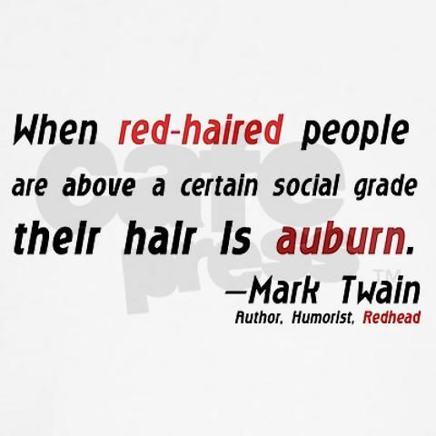 red head quotes | about redheads. Grading Redheads Fitted Hoodie; Grading Redheads ...