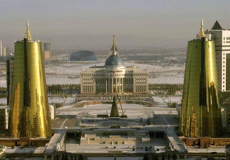En images: Astana, capitale kazakhe à l'architecture extravagante