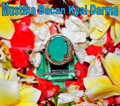 Mustika Batu Bacan Biru Kyai Darma