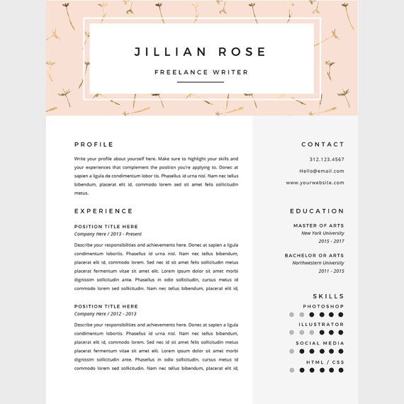 77 best CV images on Pinterest Plants, Creative curriculum and - freelance writing resume