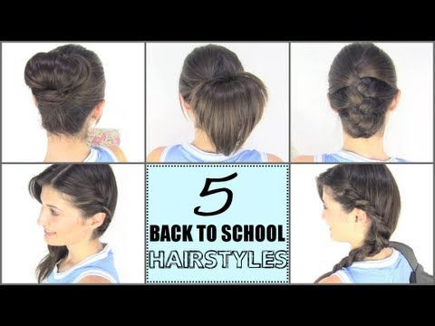 Magnificent 103 Best Images About Cute Hairstyles On Pinterest Easy Hairstyles For Women Draintrainus