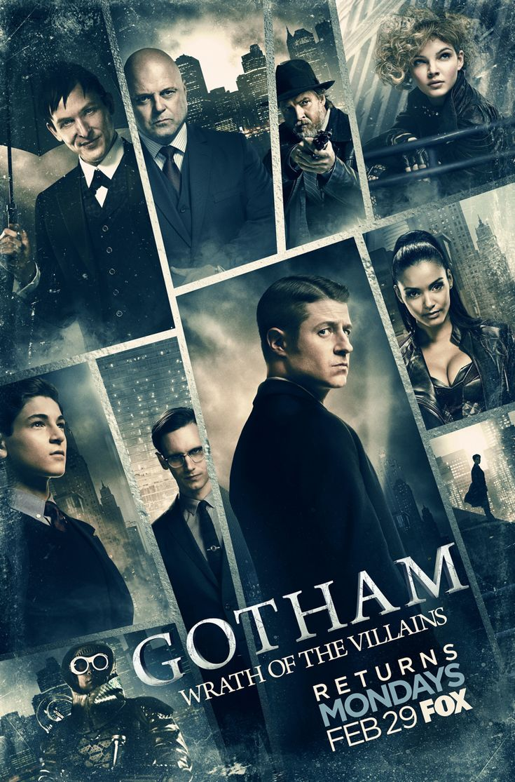 #Gotham - Season 2B Poster