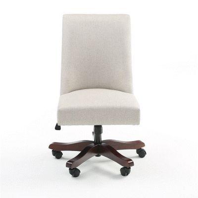 Corinne Flax Swivel Desk Chair – #Chair #corenne #…