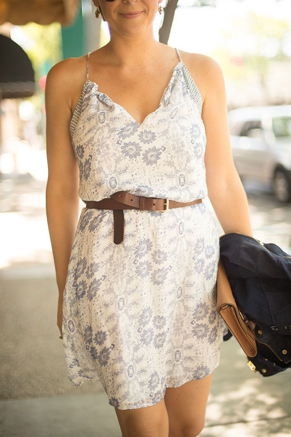 Chic of the Week styles a summer sundress to perfection.