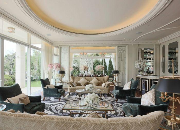 best abgehängte decke wohnzimmer images - home design ideas, Wohnzimmer