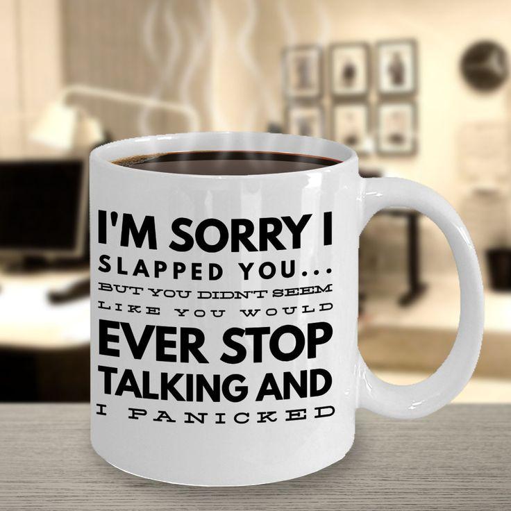 Slap Mug for Men Gifts for Women Funny Coffee Mug for Her ...