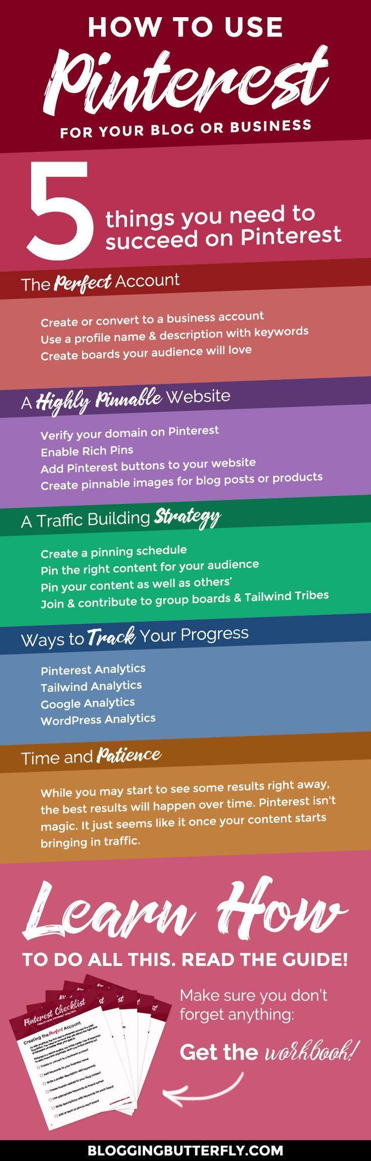 Pinterest For Bloggers How To Use Pinterest To Drive Traffic To Your Blog Pinterest Marketing Strategy Blog Tips Pinterest For Business