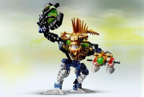 Amazon.com: Lego Bionicle PIRAKA Figure Irnakk with Unique Gold Spine #8626: Toys & Games