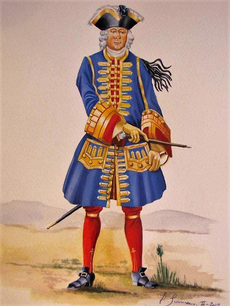 23 best costume militaire 17 me si cle images on pinterest for Salle de bain louis xv versailles
