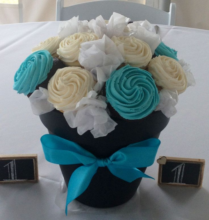 10 Best Cupcake Centerpieces Images On Pinterest Cupcake
