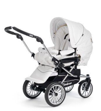 Dream pram, Emmaljunga Mondial White Leather ❤️