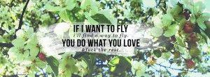 """If I want to fly, I'll find a way to fly. You do what you love, and fuck the rest."" – Little Miss Sunshine, 2006 -   Facebook Cover, iPhone Wallpaper, Desktop Wallpaper(2560×1440)"
