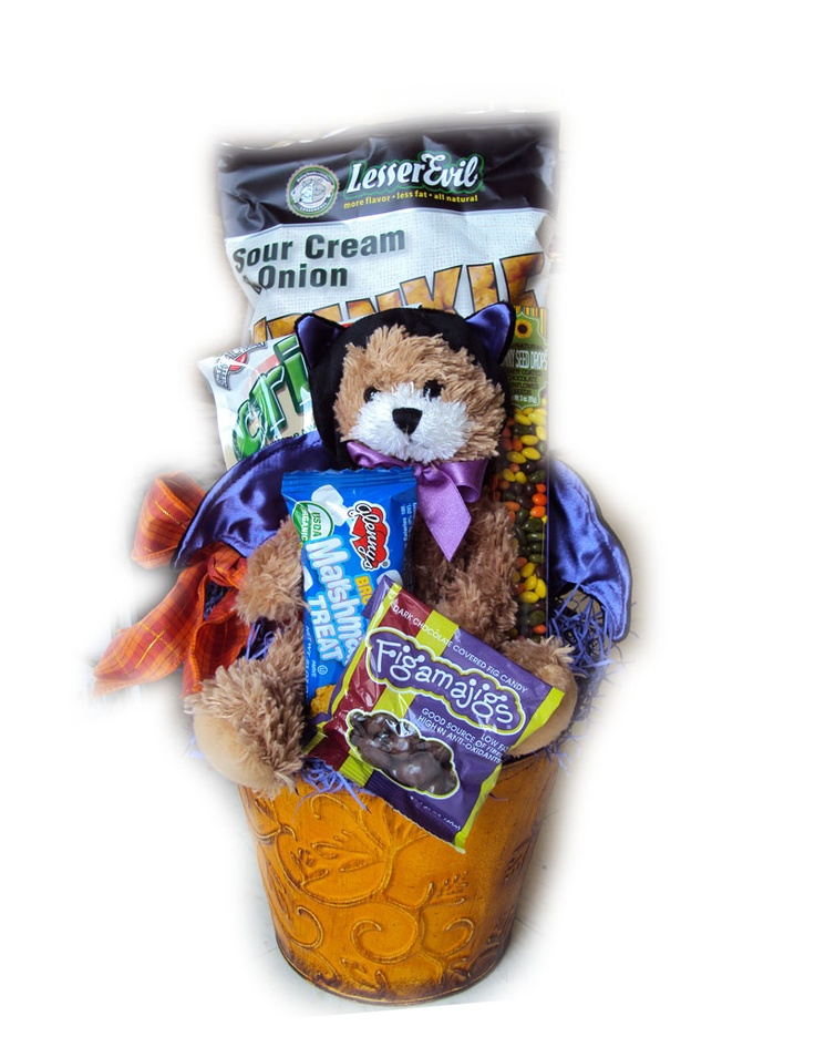 9 best gluten free easter baskets images on pinterest christmas healthy halloween gift basket for children negle Image collections