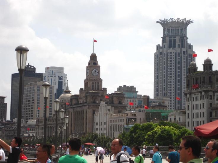 Downtown Shanghai - Pre-Revolution Development by foreign settlements