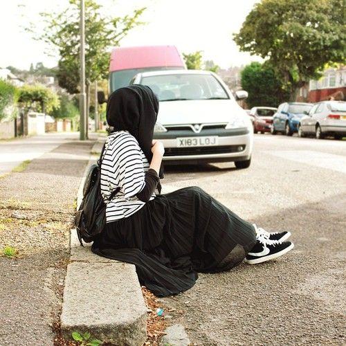 still fashionable with hijab!