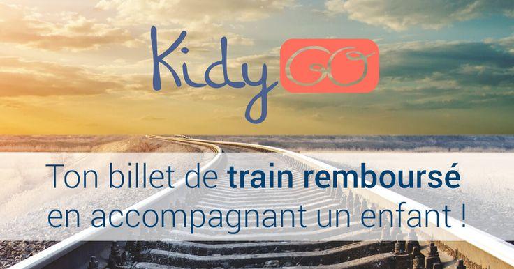 KidyGo | KidyGo vous propose d'accompagner un enfant quand vous prenez le train, contre la prise en charge de votre billet par les parents.