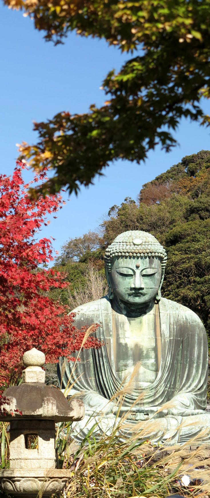 The Great Buddha of Kamakura - Kōtoku-in Buddhist Temple in the city of Kamakura, Kanagawa Prefecture | Japan