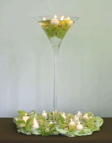 205 best wine glass centerpieces images on pinterest wine glass centerpieces amazing ideas. Black Bedroom Furniture Sets. Home Design Ideas