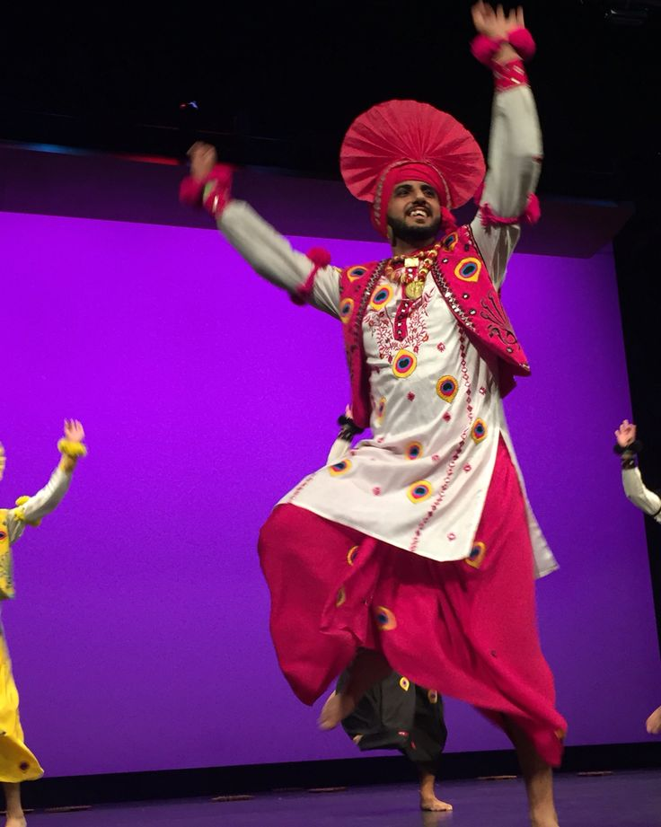 Performing at legacy of Bhangra