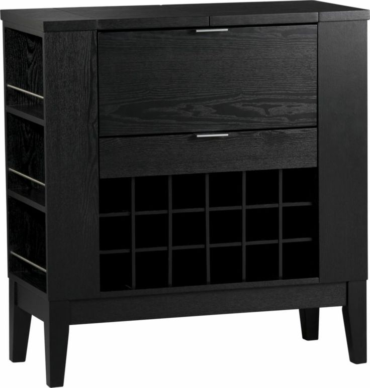 Parker Spirits Cabinet  | Crate and Barrel  --- Why does CB close so early.. ready for pick-up but can't get there til Saturday - its going to fit perfectly