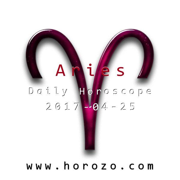 Aries Daily horoscope for 2017-04-25: Your passions run strong today: even more so than usual! It's a great time to let your sweetie know how you feel or to take things to a new level at work: or anywhere you need to shine!. #dailyhoroscopes, #dailyhoroscope, #horoscope, #astrology, #dailyhoroscopearies